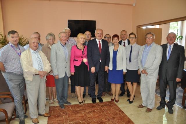 Ilustracja do informacji: Wizyta Wojewody Lubuskiego w Gminie Zbąszynek