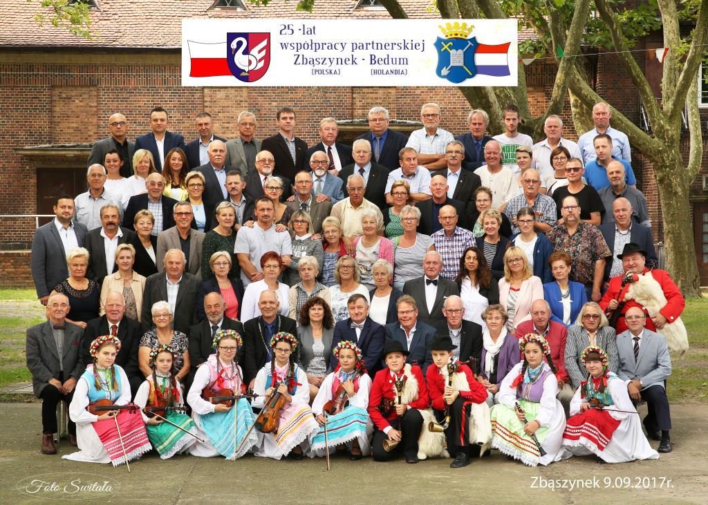 Ilustracja do informacji: Jubileusz 25-lecia współpracy partnerskiej Zbąszynek - Bedum