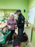 Miniatura zdjęcia: Wizyta strażaka